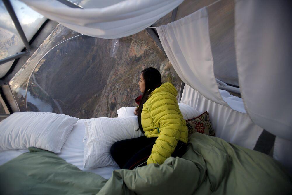 Pérou: un hôtel garanti sensations fortes