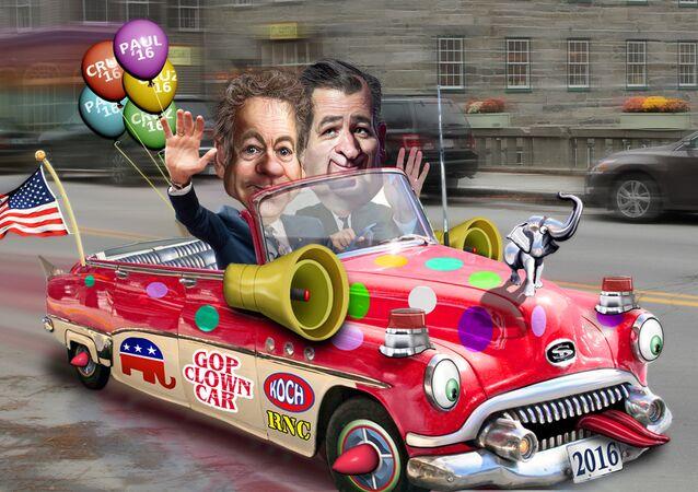 Rand Paul joins Ted Cruz in the Republican Clown Car