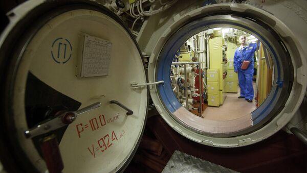 Sous-marin nucléaire russe K-18 Karelia - Sputnik France