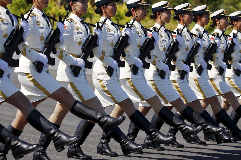 A Pékin, répétition d'un défilé militaire sans précédent