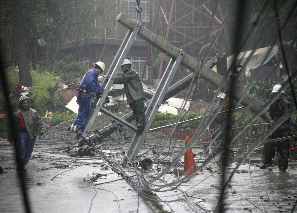 Typhon Goni : les Philippines à nouveau meurtries