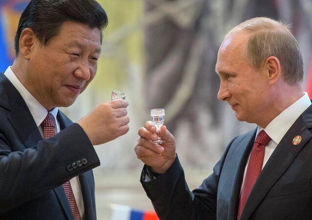 La visite de M. Poutine en Chine