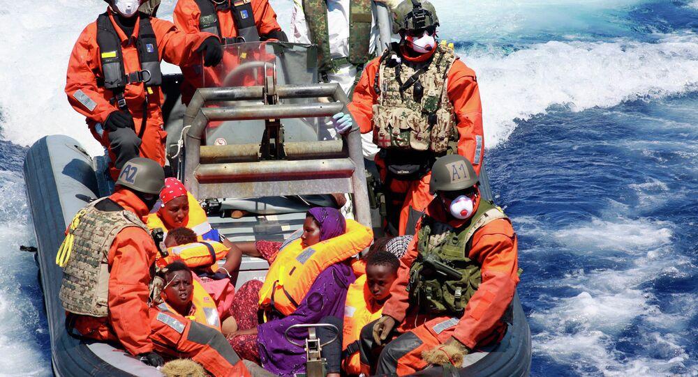 Opération de sauvetage des migrants