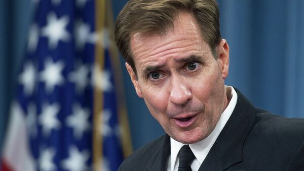 Le porte-parole du Pentagone, John Kirby - Sputnik France