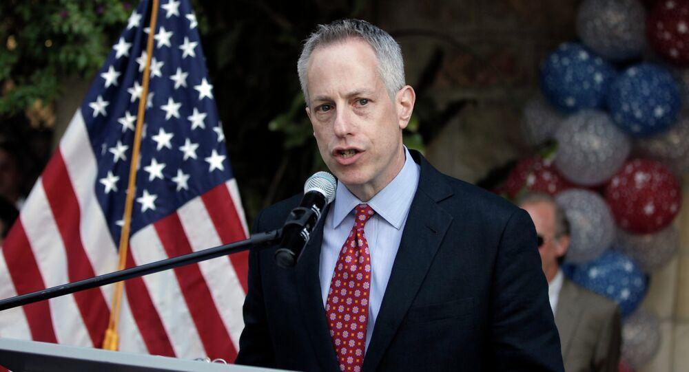 L'émissaire spécial des Etats-Unis pour la Syrie Michael Ratney. Archive photo