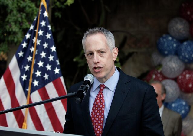 L'envoyé spécial des Etats-Unis pour la Syrie Michael Ratney