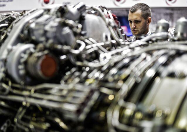 Un moteur, image d'illustration