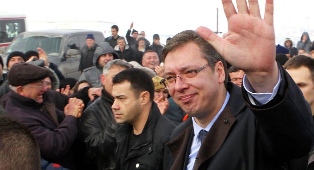 Vucic et les Serbes du Kosovo