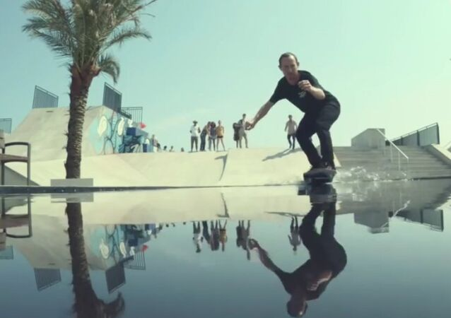 Un «hoverboard» inspiré de Retour vers le futur
