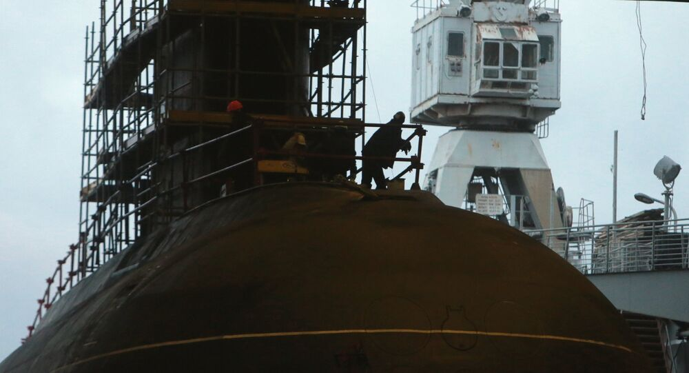 Sous-marin russe Novorossiïsk