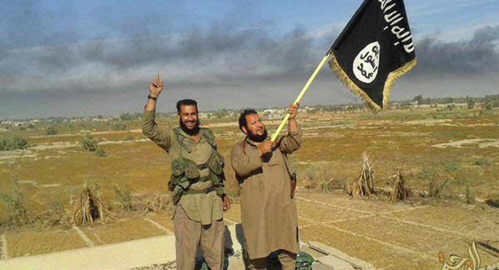 Combattants de l'EI en Irak