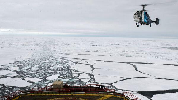 Brise-glace Iamal en Arctique - Sputnik France