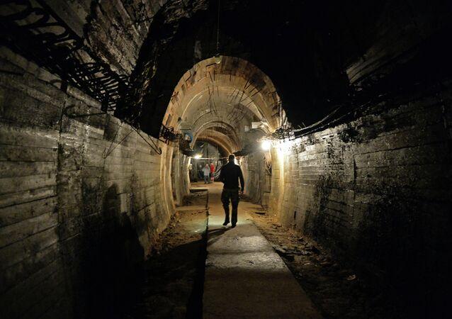 Un tunnel secret dans la région polonaise de Walbrzych