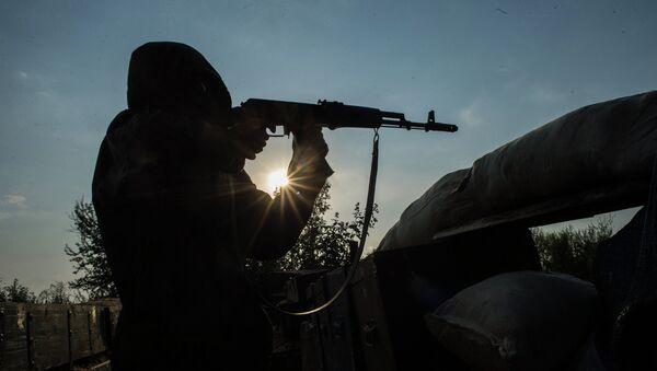 Ситуация в поселке Спартак Донецкой области - Sputnik France
