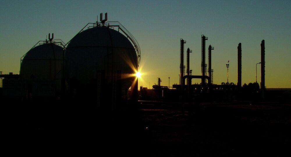 L'éxploitation du gaz