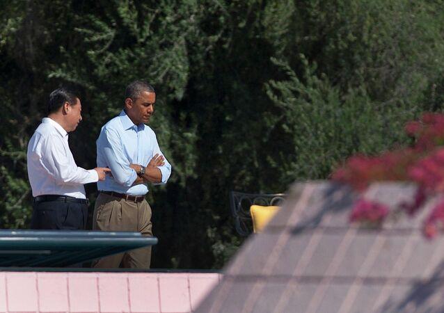 Barack Obama et Xi Jinping. Archive photo