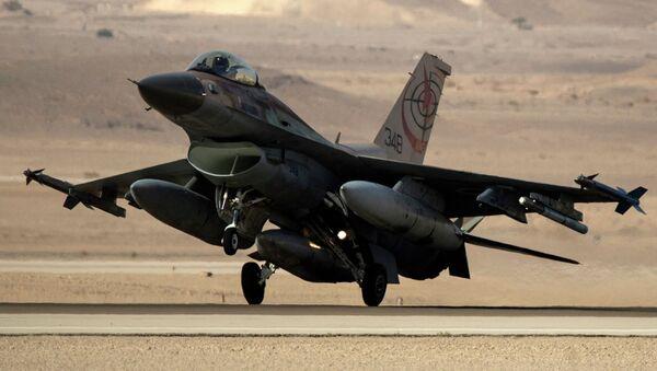 Un chasseur israélien F-16 - Sputnik France