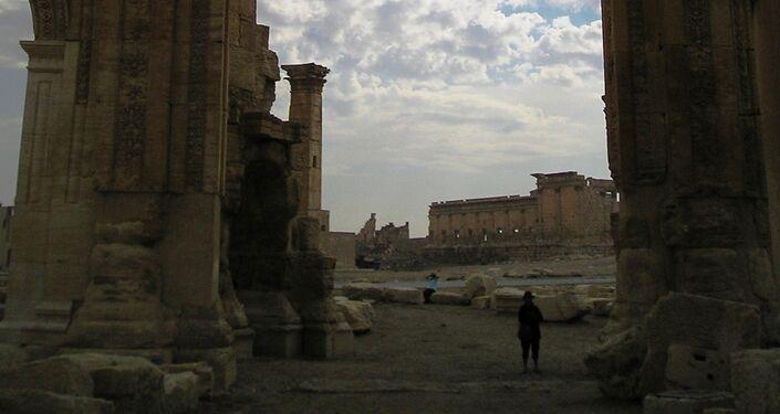 Le temple de Bel, Palmyre