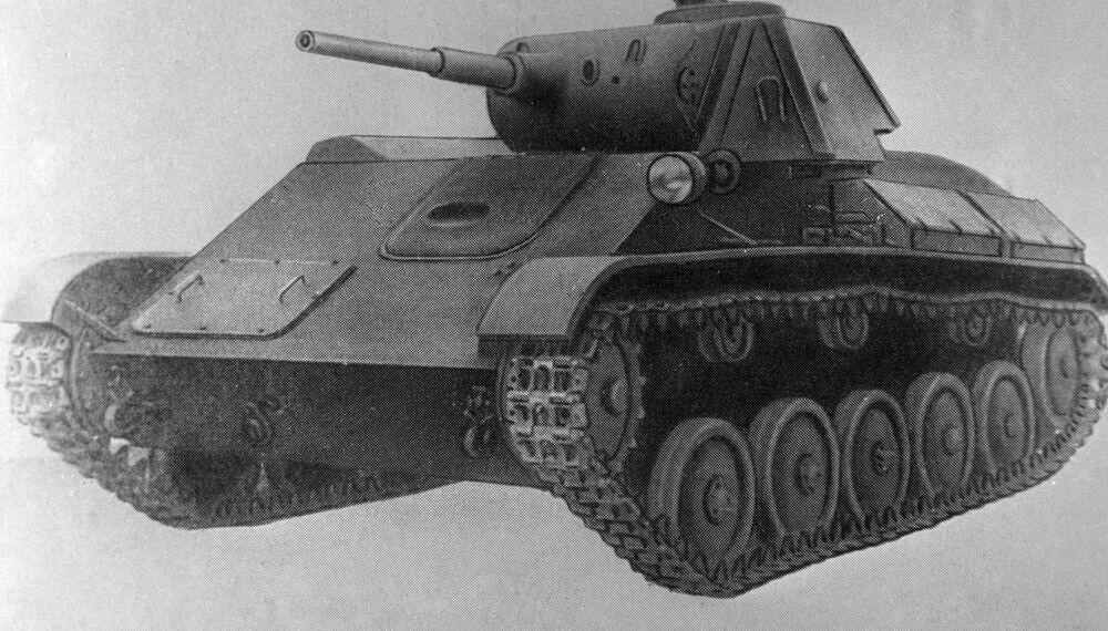 Char léger T-70