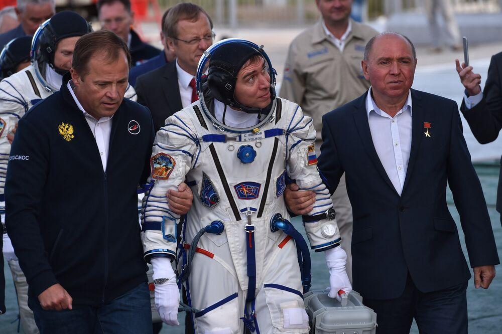 Un nouvel équipage s'envole vers l'ISS
