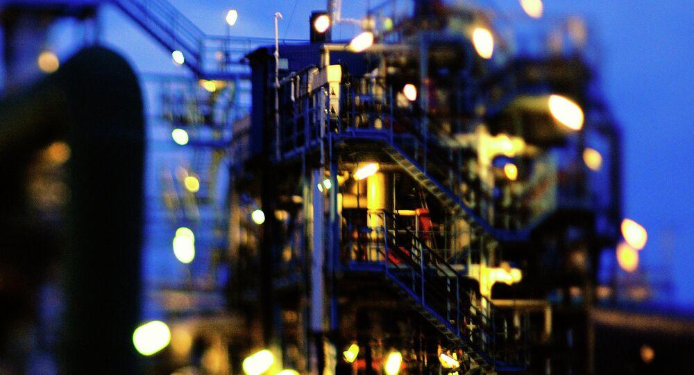 Les plateformes pétrolières