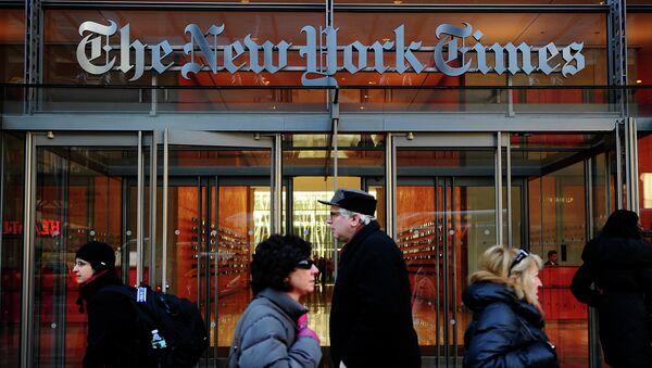 'The New York Times' - Sputnik France