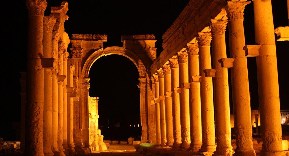 Palmyra, colonnaded axis