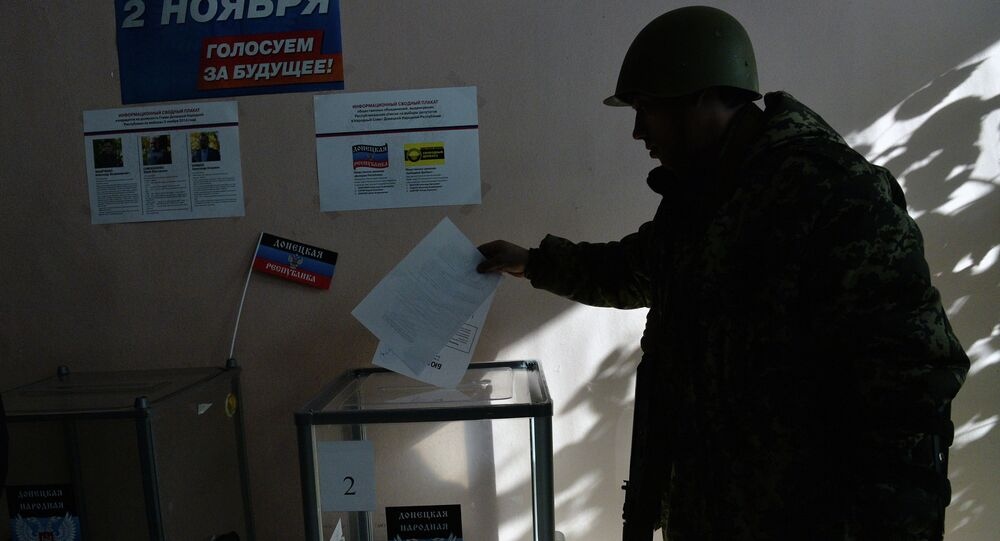 Elections à Donetsk. Archive photo