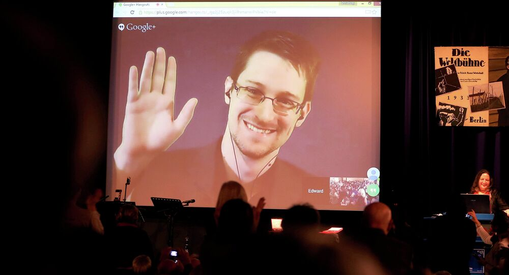 Edward Snowden. Archive photo