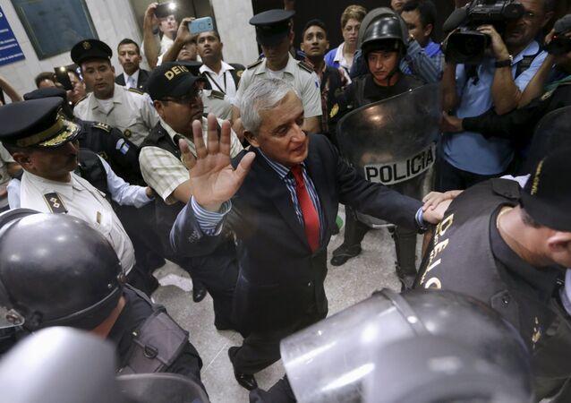 Emprisonnement de l'ex-président du Guatemala Otto Perez Molina