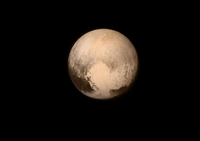 Une  photo de Pluton prise par New Horizons