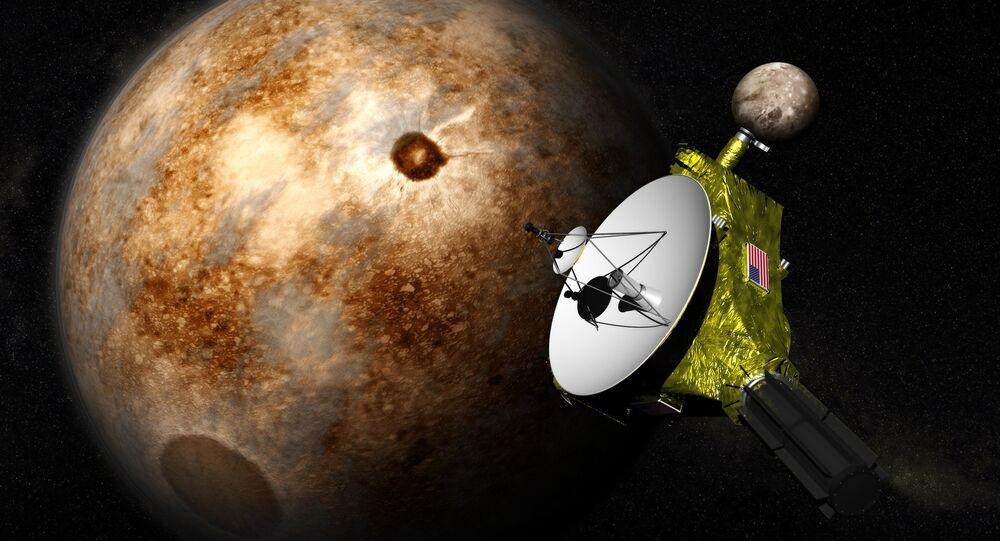La sonde New Horizons découvre de la neige sur Pluton