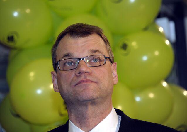 Juha Sipilä, premier ministre finlandais