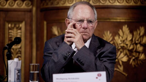 Wolfgang Schauble, ministre allemand des Finances - Sputnik France
