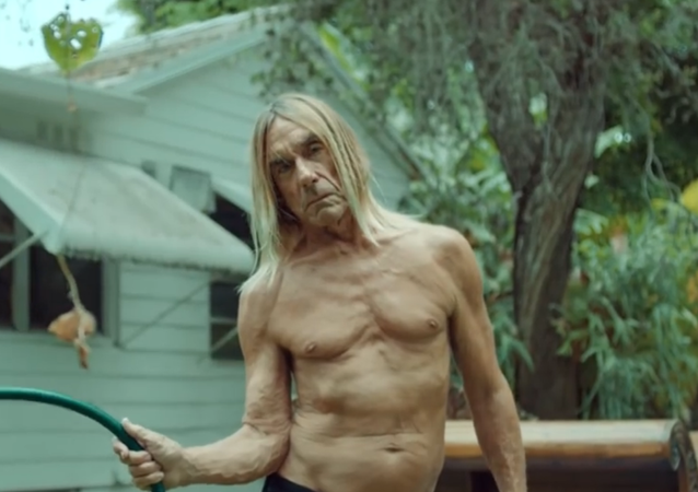 Iggy Pop champion du recyclage de vêtements