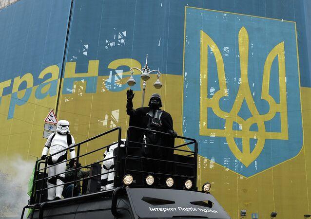 L'un des Dark Vador ukrainiens