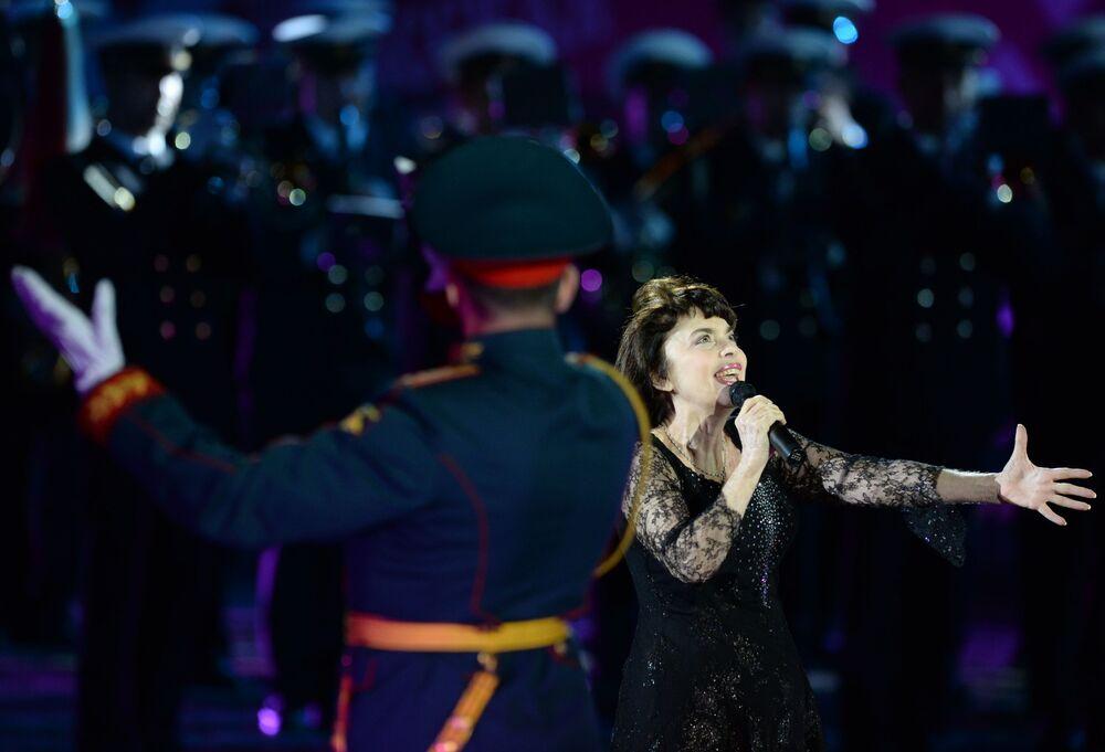 Le festival des fanfares militaires de Moscou