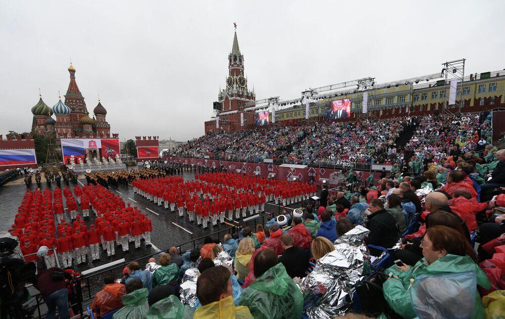 Le Jour de la ville fêté à Moscou