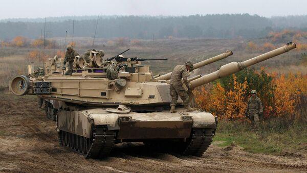Tanks américains Abrams - Sputnik France