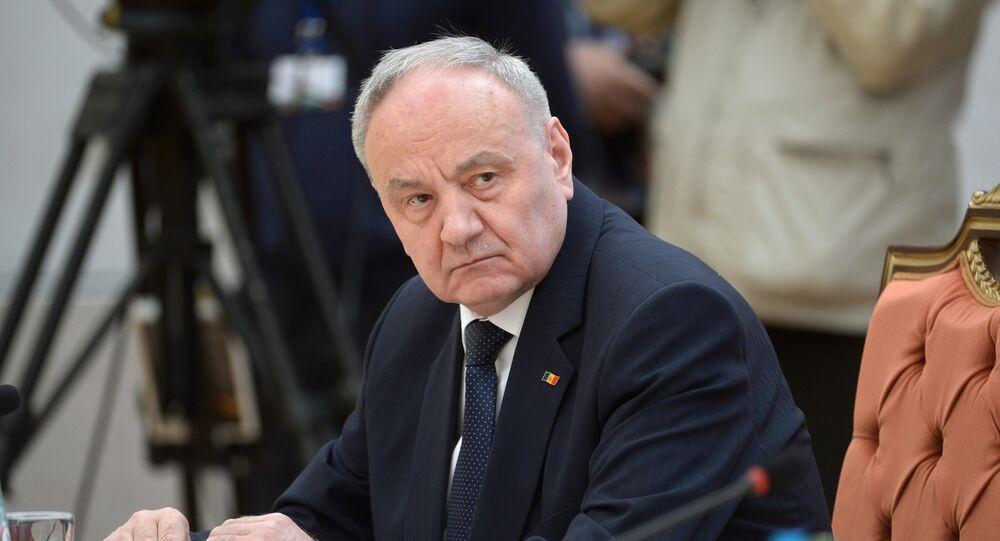 le président moldave Nicolae Timofti