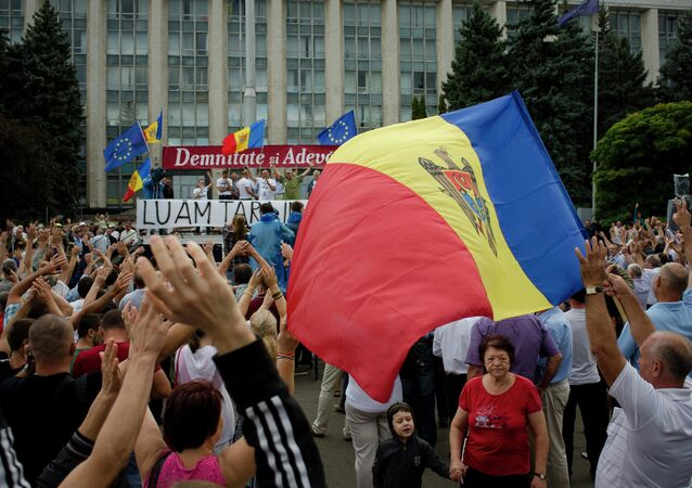 Les manifestations à Chisinau