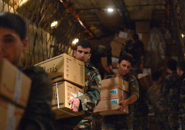 aide humanitaire à la Syrie