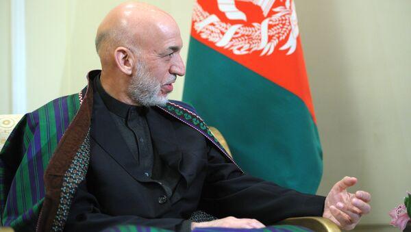 Hamid Karzai, ex-président de l'Afghanistan - Sputnik France