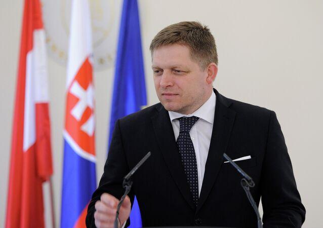 Premier ministre slovaque Robert Fico