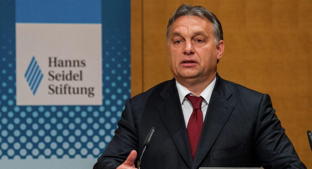 Premier ministre de Hongrie Viktor Orban