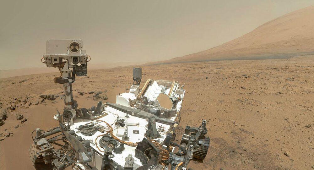 Robot martien Curiosity