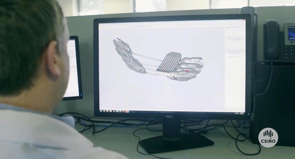 Cage thoracique imprimée en 3D