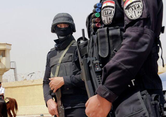 Forces de sécurité égyptiennes. Archive photo