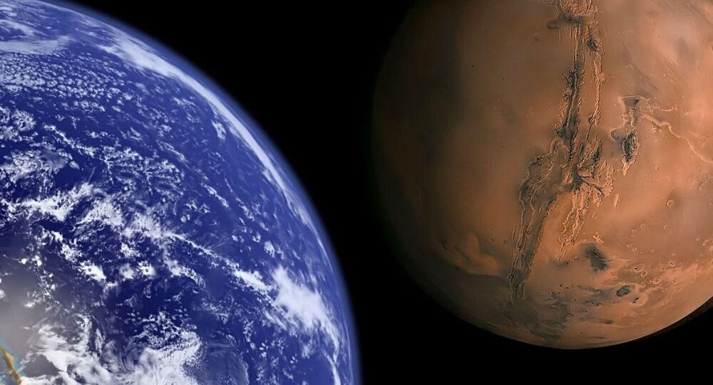 Terre et Mars