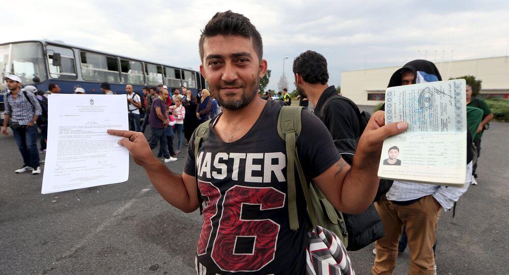 un migrant